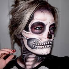 skeleton face paint kids 4