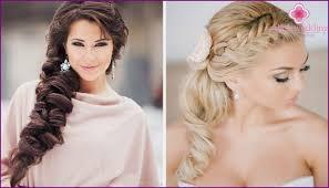 Nevěsta účes Na Dlouhé Vlasy Myšlenky Pilíře S Krásnými Fotografiemi