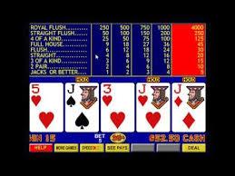 Free Video Poker Strategy Charts Jacks Or Better Strategies Jacks Or Better Video Poker