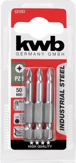 <b>Бита PZ1 50 мм</b> INDUSTRY 3 шт. <b>KWB</b> 121151 - цена, отзывы ...