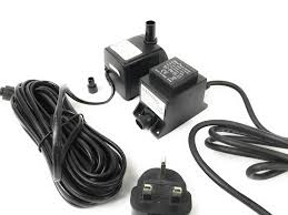 Replacement Water Feature Pump With Light Offshoot 250 Lph Replacement Water Feature Pump With Light Offshoot