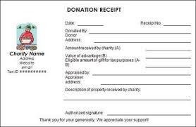 Proof Of Receipt Template Non Profit Donation Receipt Template Using The Donation