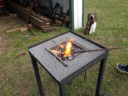 i just built a charcoal forge i will make a post tonight in the welding projects page
