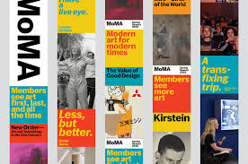 Moma Identity Design New Brand Identity For Moma By Order Bp O