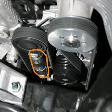 serpentine belt help asap please cobalt ss network the part that i circled is the stock tensioner right