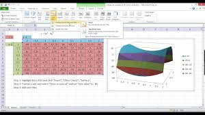Create 3d Chart Plotting A 3d Graph In Excel