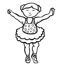 Leuk Voor Kids Kleurplaat Boven Badkamer Ballerina Coloring