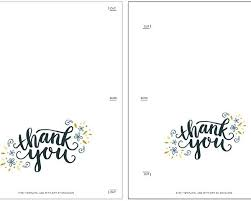 Free Printable Foldable Thank You Cards Coles Thecolossus Co With