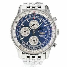 1000 images about breitling quintessence mens watch collection on breitling navitimer olympus a19340 chronograph moon phase steel watch for men breitling luxurydressstyles