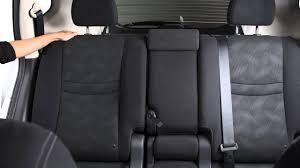 2016 nissan rogue seat adjustments