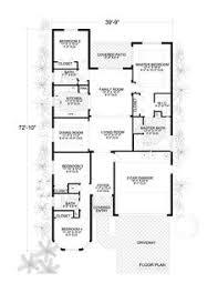 house plan florida plans narrow  sq ft ranch floor plan house plan  florida planflorida house p