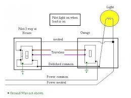wiring diagram for switch indicator the wiring diagram wiring diagram for three way switches pilot light wiring diagram