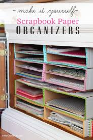 Scrapbook-paper-stacking-organizers-to-make