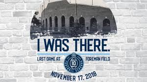 Fan Guide To Final Game At Foreman Field Odusports Com