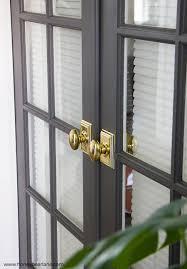 French Doors Makeover - Honeybear Lane
