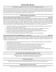 Bookkeeping Resume Samples
