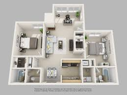 Awesome D Apartment Floor Plans Pictures Amazing Design Ideas - Small apartment floor plans 3d