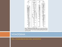 West Nomogram Chart Calculations Warmup Continue Working On The Problem From