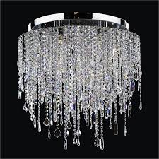 crystal flush mount light divine ice 577mc6lsp 3c