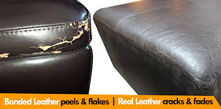 bonded leather vs real leather comparison