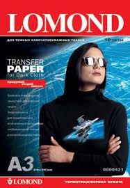 Купить <b>Бумага LOMOND</b> Transfer <b>Paper</b> for dark cloth ECONOM <b>A3</b> ...