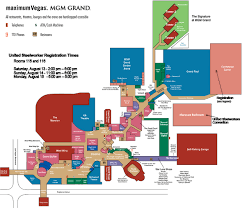 Floorplan  Picture Of MGM Grand Hotel And Casino Las Vegas Mgm Grand Las Vegas Floor Plan
