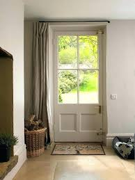 front door with window. Curtains For Door Window Back Curtain Amazing Of Front Ideas Best On Garage Windows With E