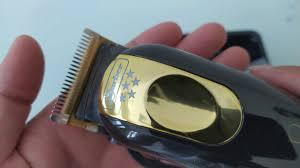 Bộ lưỡi kép thần thánh Tông Đơ Barber Magic Clip Gold - YouTube