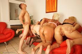 Free granny orgy movies