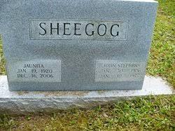 John Stephens Sheegog (1906-1977) - Find A Grave Memorial