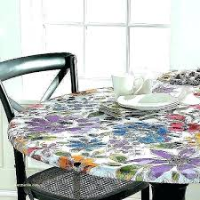 valuable design elastic vinyl table covers tablecloth with fitted tablecloths