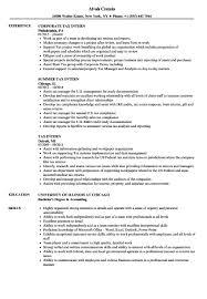 Resume Format For Internship Beautiful 51 Fresh Intern Examples ...