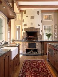i love kitchen fireplaces isn t everyone always in the kitchen anyway for parties