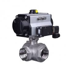 actuated ball valves valves online pneumatic actuated 3 way brass ball valve