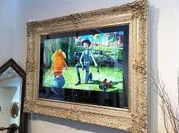 Картинки по запросу телевизор в <b>багетной раме</b> | Framed tv ...