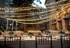 outdoor terrace lighting. outdoor dining with string lights terrace lighting
