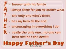 Good Father Quotes Awesome Best Happy Father Day Quote He Is My Hero Photos And Ideas