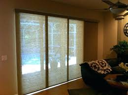 blinds for glass doors capital sliding with window treatments vertical bamboo windo