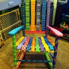 Beautiful Hand Painted Benches On Dearborn St  Englewood Review Hand Painted Benches