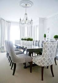 i am looking for a formal dining set like this that is reasonable in cost lux decor elegant dining room with silvery gray damask wallpaper and dark
