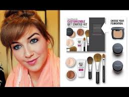 how to properly use your bare minerals starter kit get full coverage