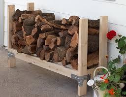 best diy outdoor firewood rack ideas