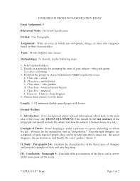 classification essay sample examples you have got example of division and classification essay