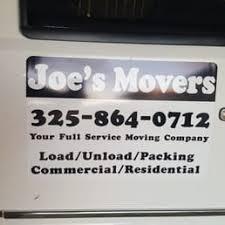 moving companies abilene tx. Modren Companies Photo Of Joeu0027s Movers  Abilene TX United States Inside Moving Companies Abilene Tx O