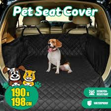 luxury waterproof pet car seat cover