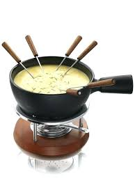 fondue gift set basket fondue gift