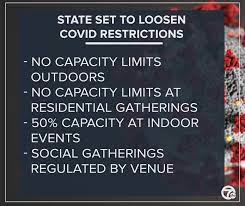 The government is yet to decide whether to lift the remaining restrictions on 21 june. Michigan S Loosened Covid 19 Restrictions Now In Effect Here S What They Are