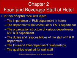 Food And Beverage Service Ppt Download