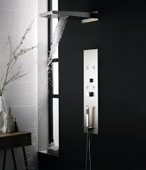 hudson reed interval thermostatic shower panel and head