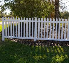 Cape Cod Vinyl Picket Fence Open Top